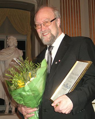 Swedish Academy Nordic Prize - Ernst Håkon Jahr receiving the Swedish Academy's Nordic Prize (2011)