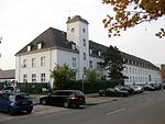 Ernst Sagebiel, Luftamt Münster, 1934, Nebengebäude Andres Hofer Straße.jpg