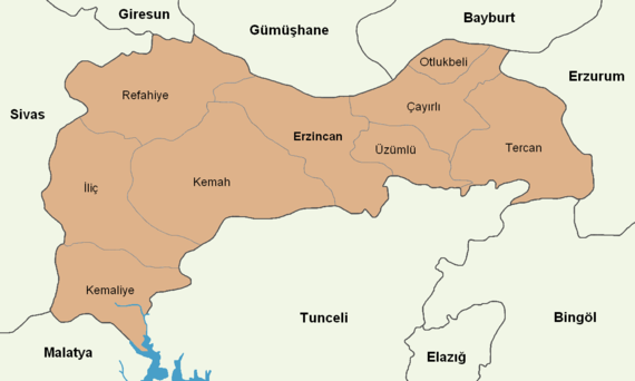 Erzincan location districts.png