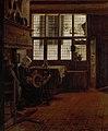 Esaias Boursse - Interieur met vrouw aan spinnewiel - SK-A-767 - Rijksmuseum.jpg