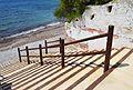 Escales cap a la cala del Baladrar de Benissa.JPG