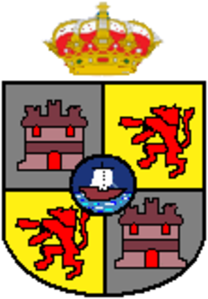Concepción, Paraguay - Image: Escudo de Concepción (Paraguay)