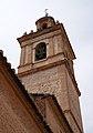 Església de sant Vicent màrtir de Benimàmet, campanar.JPG