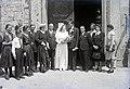 Esküvői csoportkép, 1946 Budapest. Fortepan 104628.jpg