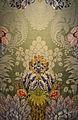 Espolí de seda amb fons en damasc, col·legi de l'Art Major de la Seda, València.JPG