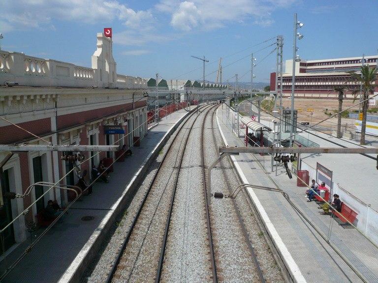 Estació rodalies Cornellà de Llobregat