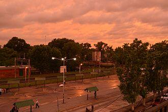 Burzaco - Image: Estación de Burzaco
