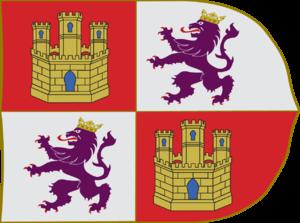 Battle of Río Salado - Image: Estandarte de la Corona de Castilla