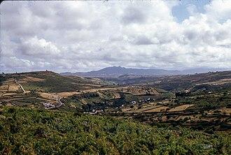 Estoril - The Estoril Massif and geomorphology of the interior regions of the parish