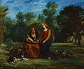 Eugène Delacroix - The Education of the Virgin - Google Art Project.jpg