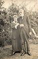 Eugène et Margaret Goblet en 1916 à Guilford UK.jpg