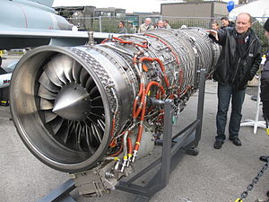 Eurojet EJ200 - An EJ200 on display