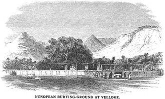 Vellore Fort - European Burying-Ground at Vellore (MacLeod, p.142, 1871)