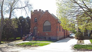 National Register of Historic Places listings in Codington County, South Dakota - Image: Evangelical United Brethren Church, Watertown, South Dakota