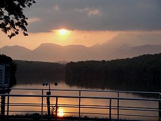 Evening - Evening in Parambikkulam, Kerala, India