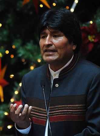 Evo Morales - Morales in 2007