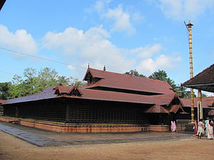 Evoor Major Sri krishnaswamy temple - Image: Evoor temple