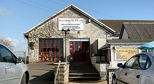 Ewenny - Ewenny Pottery and showrooms, the oldest working pottery in Wales