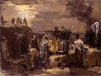Babi Yar - Felix Lembersky, Execution: Babi Yar, ca. 1944–1952