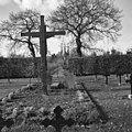 Exterieur begraafplaats met abdijkerk op de achtergrond - Berkel-Enschot - 20001116 - RCE.jpg