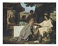 Félix-Henri+Giacomotti Abraham+lavant+les+pieds+aux+anges+-+1854+-+Paris+-+Ecole+Nationale+Supérieure+des+Beaux-Arts.jpg