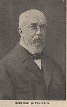 Karl Heinrich zu Löwenstein-Wertheim-Rosenberg -  Bild