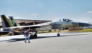 F-15 Modification Check Flight - Warner Robins Air Materiel Area