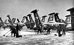 F9F-2 Panthers of VF-52 aboard USS Valley Forge (CV-45), circa in 1951.jpg