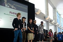 FLOW at Fanime 2011 Opening Ceremony.jpg