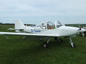 Trago Mills - The FLS Sprint seen here at the fly-in at Bodmin Airfield, 3 May 2008.