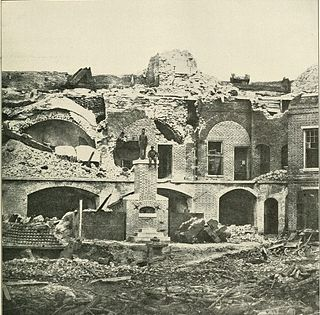 Second Battle of Charleston Harbor Siege during the American Civil War