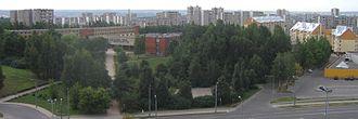 Fabijoniškės - Panorama of Fabijoniškės
