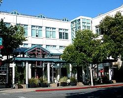 Facebook headquarters in Palo Alto, CA