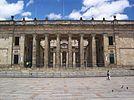 Fachada del Capitolio Nacional de Colombia