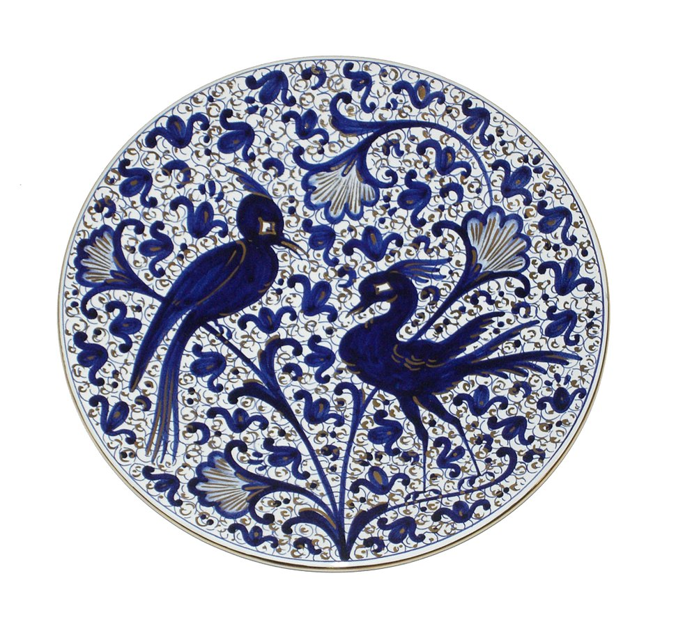 Faience Plate Melograno