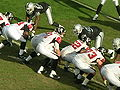 Falcons on offense at Atlanta at Oakland 11-2-08 19.JPG
