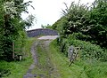 Farm track near Stoneley Green, Cheshire - geograph.org.uk - 1706111.jpg