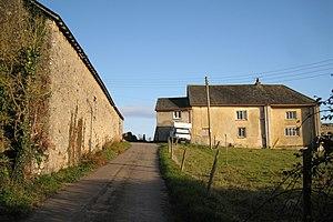 Whiteway, Kingsteignton - Whiteway Barton in 2009