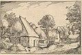 Farmyard from Regiunculae et Villae Aliquot Ducatus Brabantiae MET DP825665.jpg