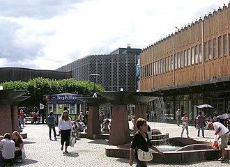 Farsta - Square in Farsta.