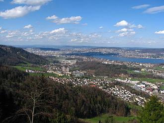 Leimbach (Zürich) - Image: Felsenegg Leimbach Zürich Käferberg IMG 3237