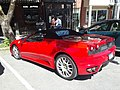 Ferrari F430 Spider Main Street downtown Montpelier VT June 2019 side.jpg