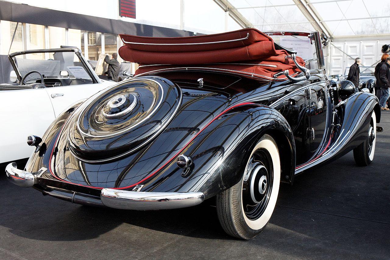 file festival automobile international 2011 vente aux ench res mercedes benz 170 v cabriolet. Black Bedroom Furniture Sets. Home Design Ideas