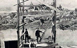 Arrival of the Hungarians - Feszty and his assistants at work