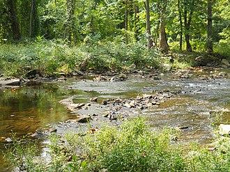 Pennypack Creek - Pennypack Creek near Fetter's Mill.