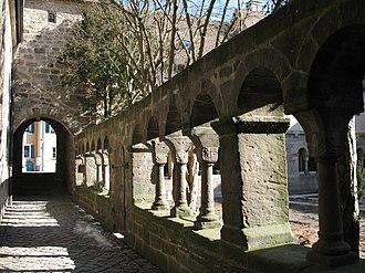 Feuchtwangen - Romanesque cloister