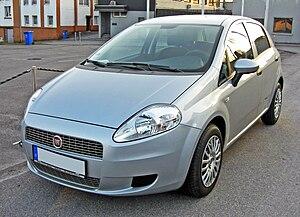 Fiat Punto - Image: Fiat Grande Punto 20090402 front