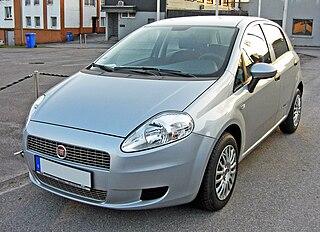 Fiat Punto Supermini car