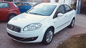 Fiat Linea - 2012 Fiat Linea facelift