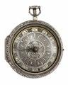Fickur med boett och urtavla av silver, 1700-tal - Hallwylska museet - 110443.tif